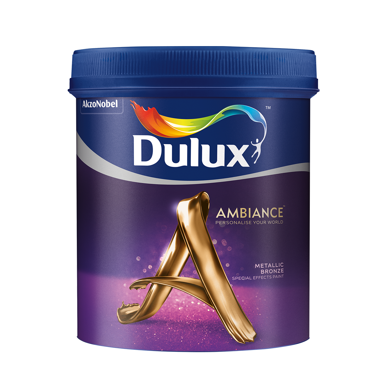 Dulux Ambiance Special Effects Paints (Metallic Bronze)