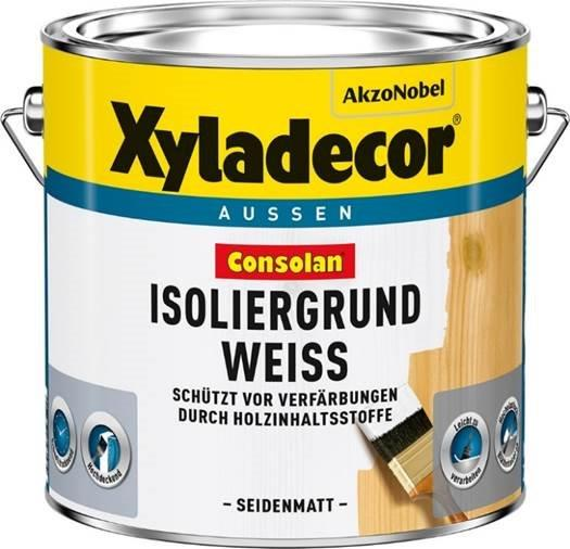 Xyladecor Consolan Isoliergrund Weiss