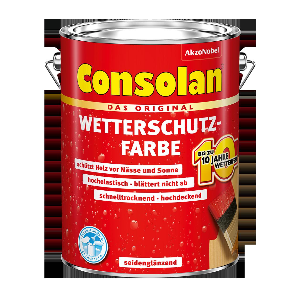 Consolan Wetterschutz-Farbe