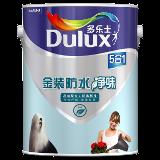 多乐士金装防水净味5合1哑光墙面漆