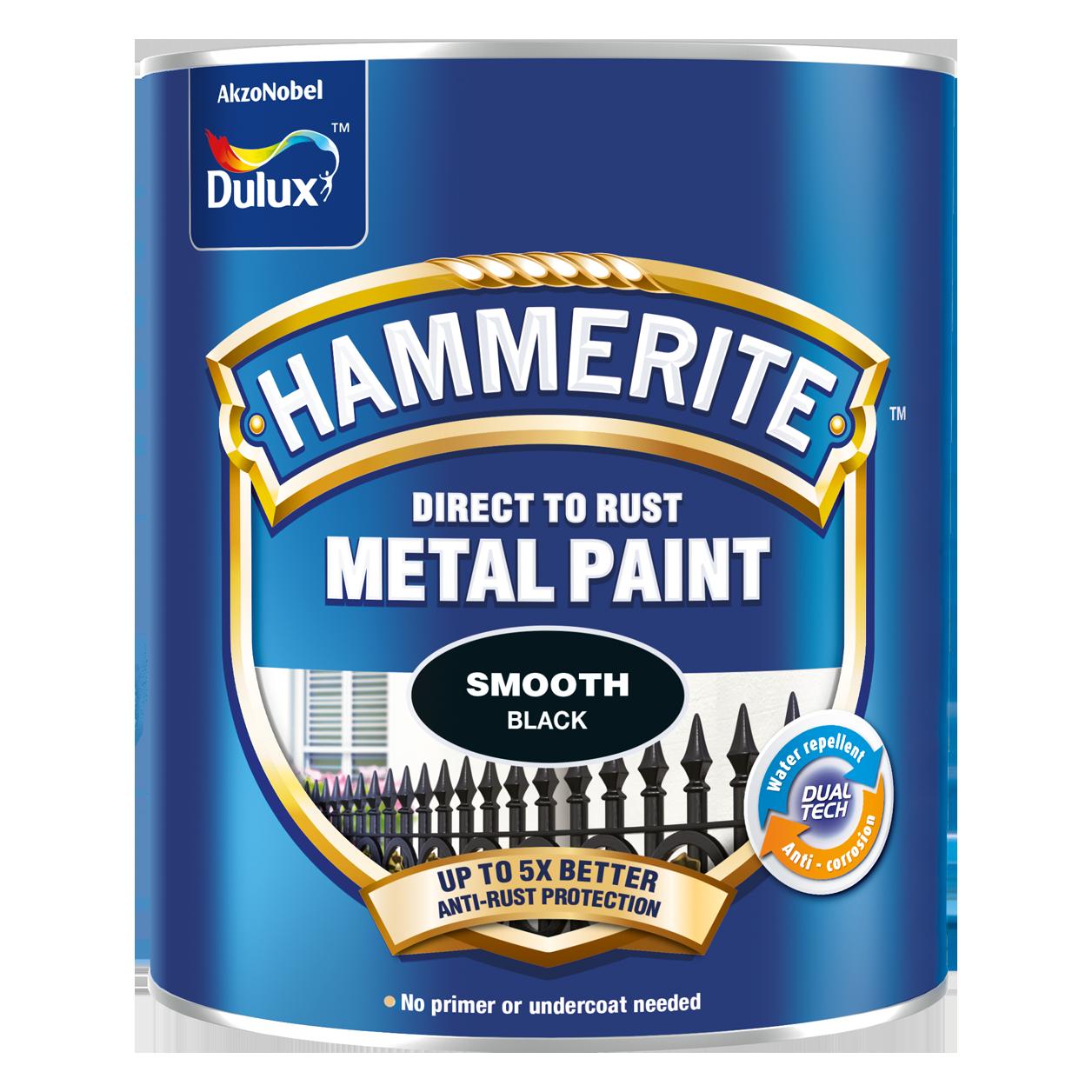 Sơn Kim Loại Hammerite Direct To Rust - Bề mặt bóng