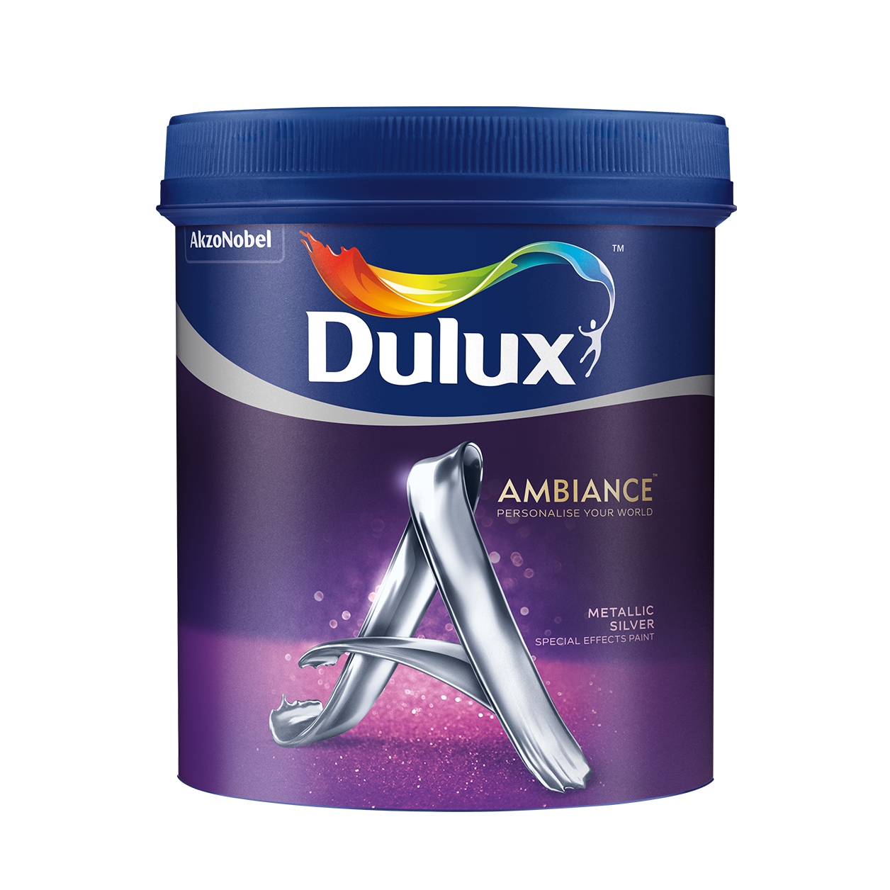 Dulux Ambiance Special Effects Paints (Metallic Silver)