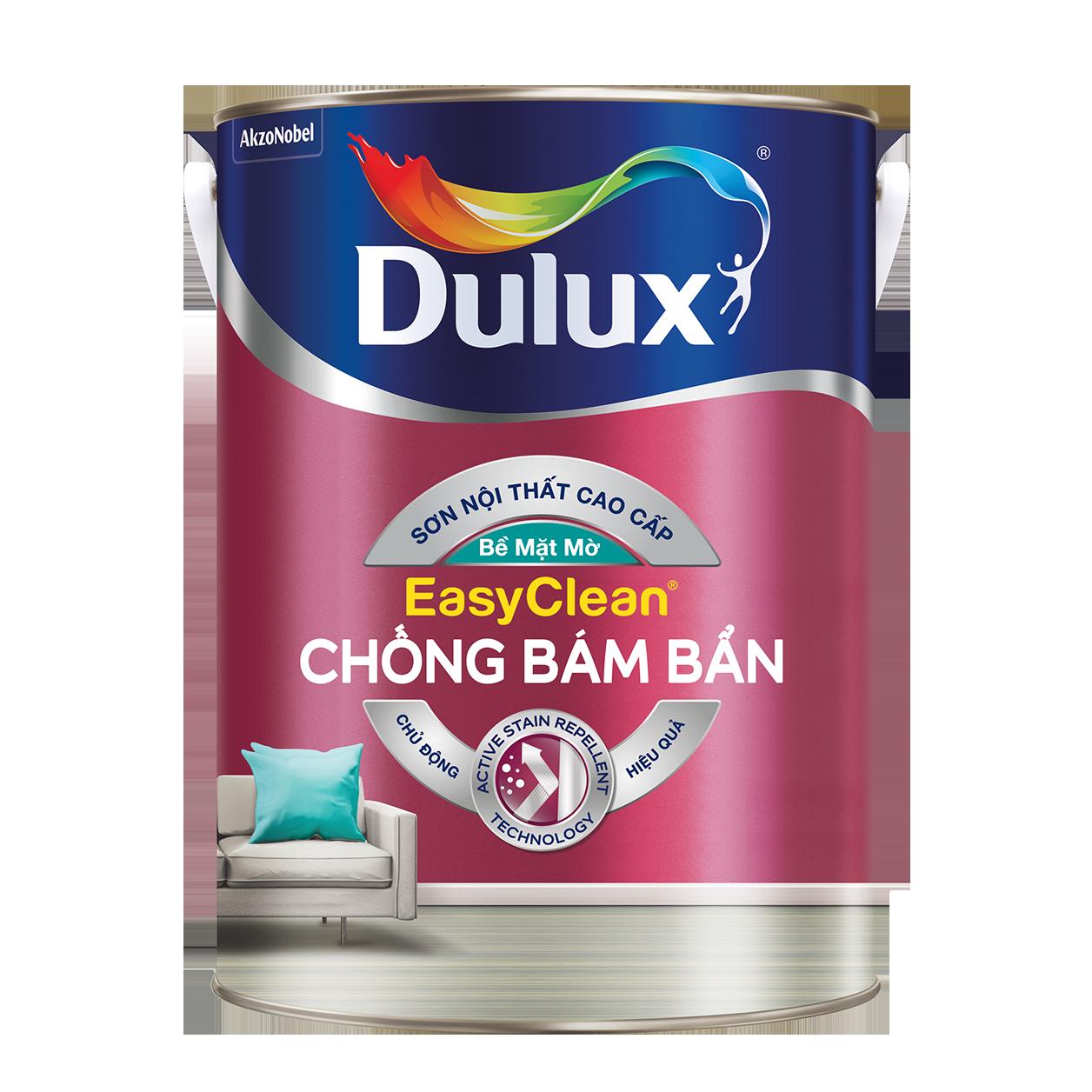 Dulux EasyClean Chống Bám Bẩn - Bề Mặt Mờ