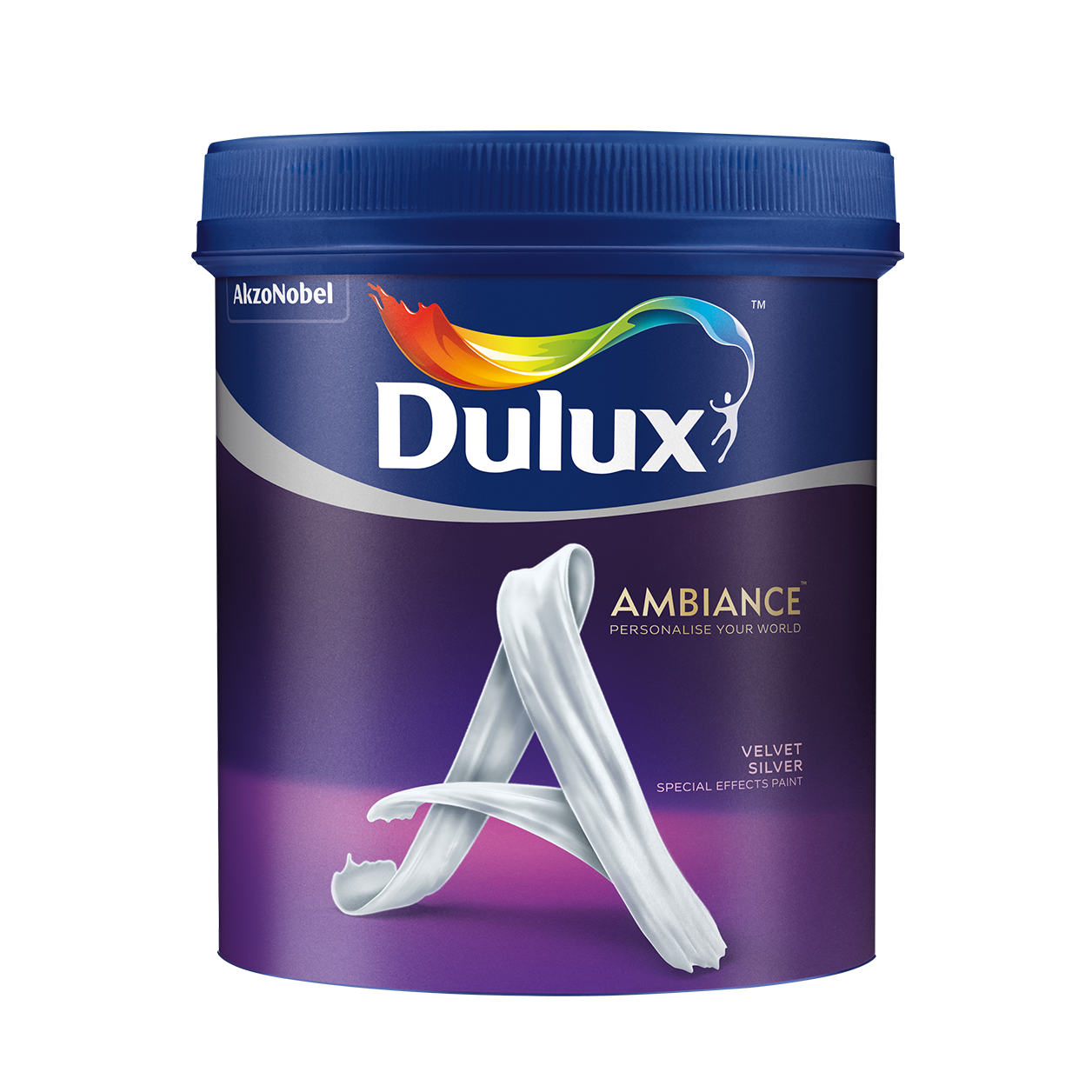 Dulux Ambiance Special Effects Paints (Velvet Silver)