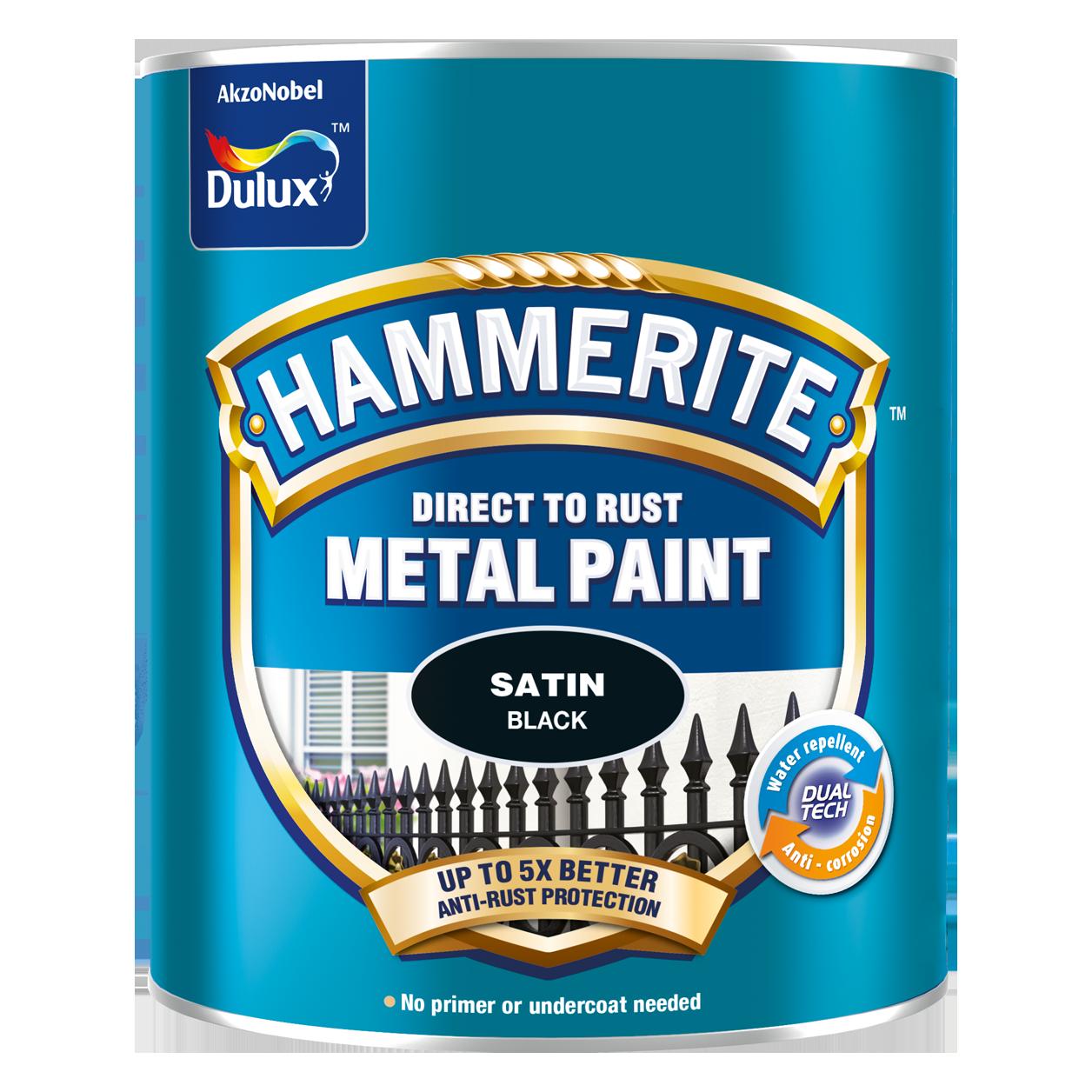 Sơn Kim Loại Hammerite Direct To Rust - Bề mặt bóng mờ