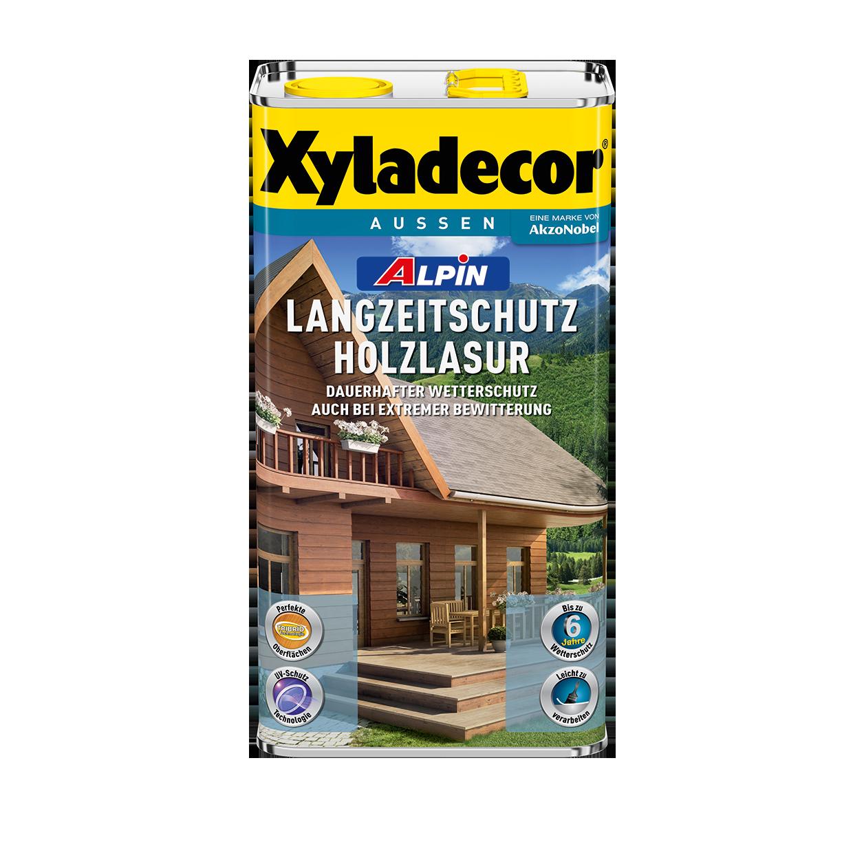 Xyladecor Alpin Langzeitschutz Holzlasur