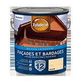 Lasure protectrice pour bois extérieur Façades et Bardages Satin