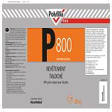 P800 Revêtement taloché