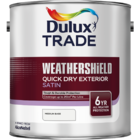 DULUX TRADE WEATHERSHIELD QUICK DRY EXTERIOR SATIN