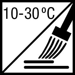Verwerkingstemperatuur: 10-30ºC