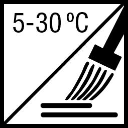 Verwerkingstemperatuur: 5-30ºC
