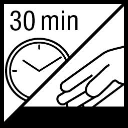 Kleefvrij na 30 min