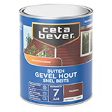 Snelbeits Gevel Hout transparant