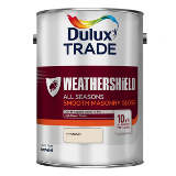 Dulux Trade Weathershield All Seasons Smooth Masonry Gloss