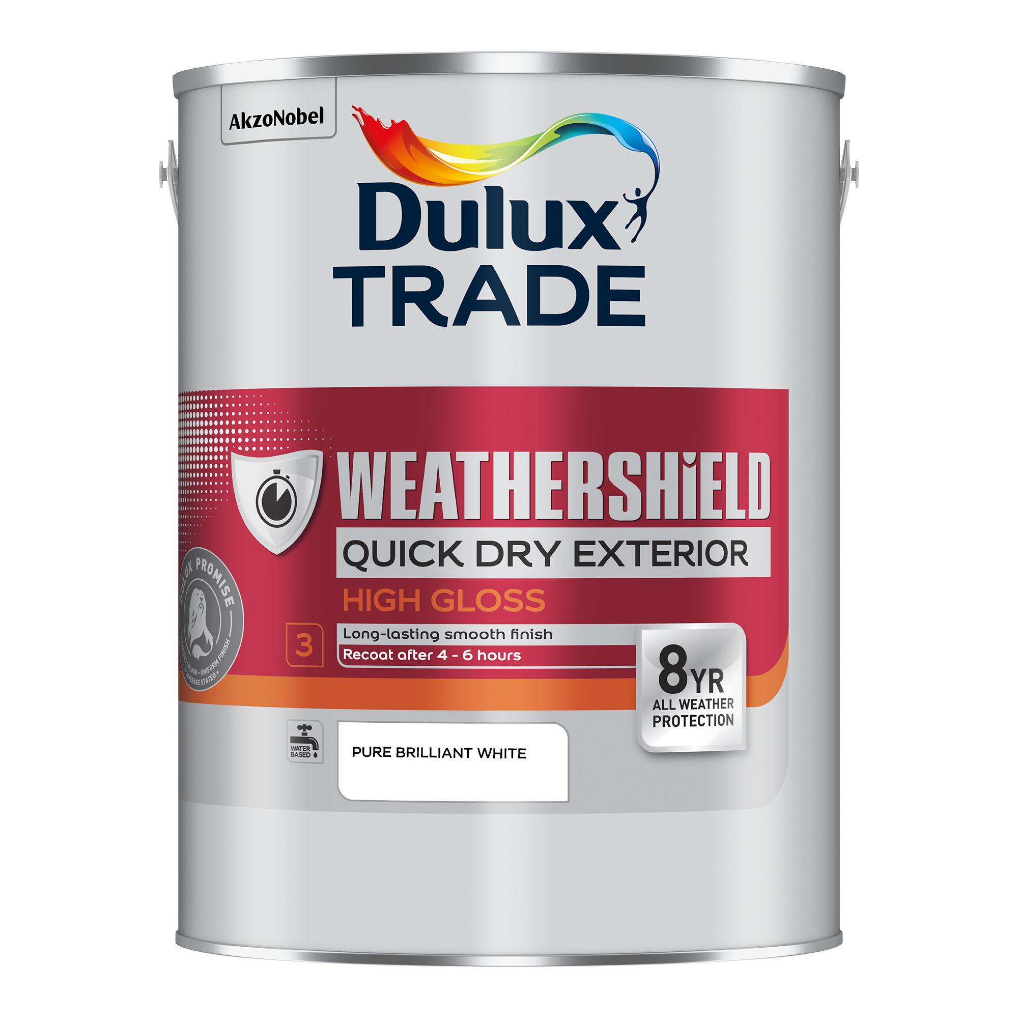 Dulux Trade Weathershield Quick Dry Exterior Gloss