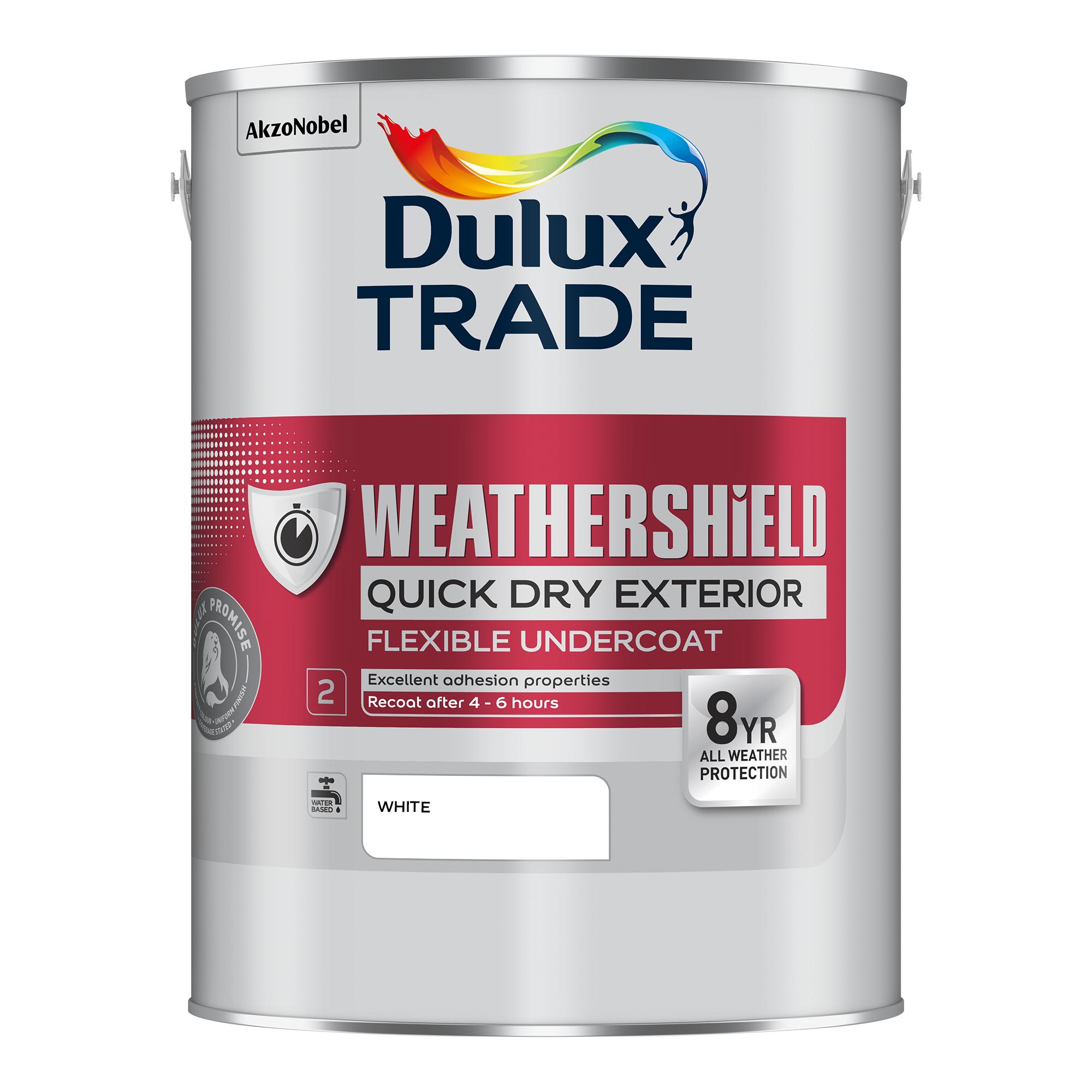 Dulux Trade Weathershield Quick Dry Exterior Undercoat