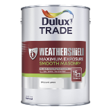 Dulux Trade Weathershield Maximum Exposure Smooth Masonry Paint