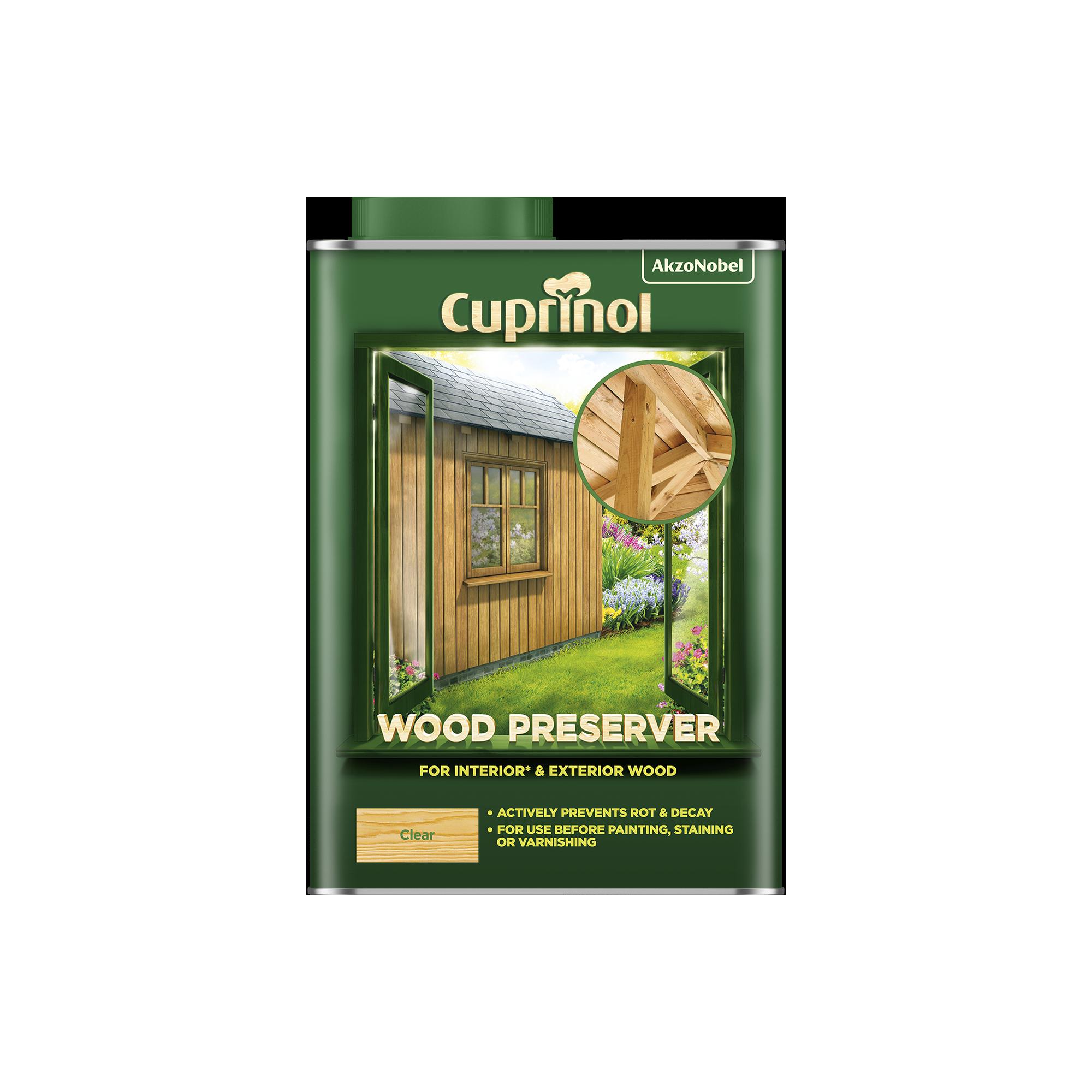 Cuprinol Wood Preserver Clear (BP)