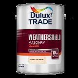 Dulux Trade Weathershield Masonry Gloss