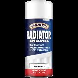 Hammerite Radiator Enamel Satin Aerosol