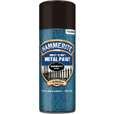 Hammerite Direct To Rust Metal Paint Aerosol Hammered Finish