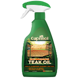 Cuprinol Naturally Enhancing Teak Oil Spray